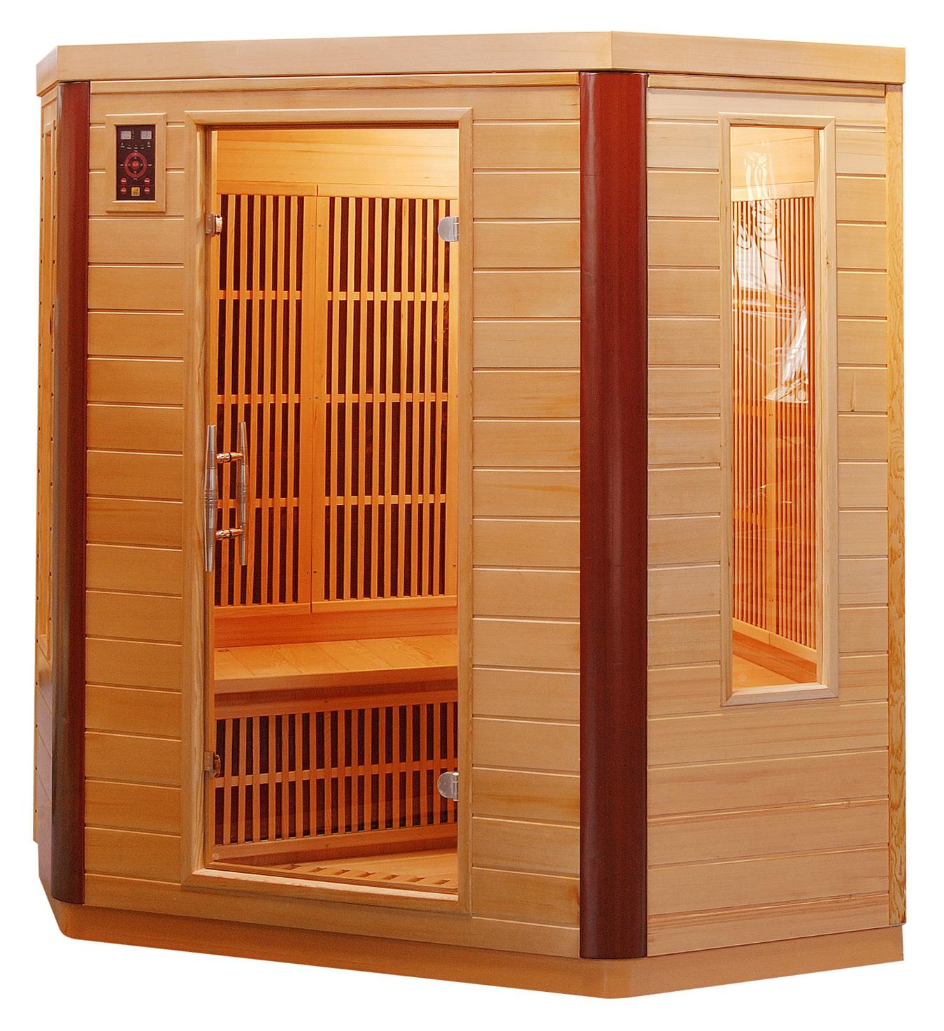 piscinex sauna prince sauna infrarouge prince 3 4 places. Black Bedroom Furniture Sets. Home Design Ideas