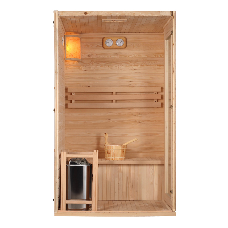 Piscinex sauna saga sauna vapeur saga blazer 2 places for Sauna vapeur exterieur