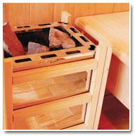 Sauna Vapeur Pierre de Lave