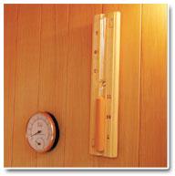 Sauna Vapeur Thermometre