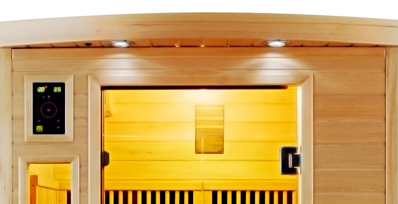 piscinex sauna sauna infrarouge apollon 2 places. Black Bedroom Furniture Sets. Home Design Ideas
